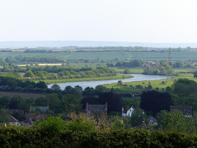 Bending round Burton Meadows
