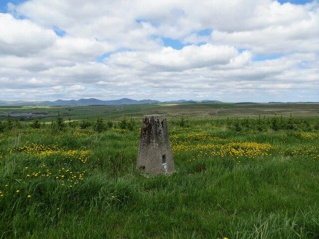 West Loch trig pillar