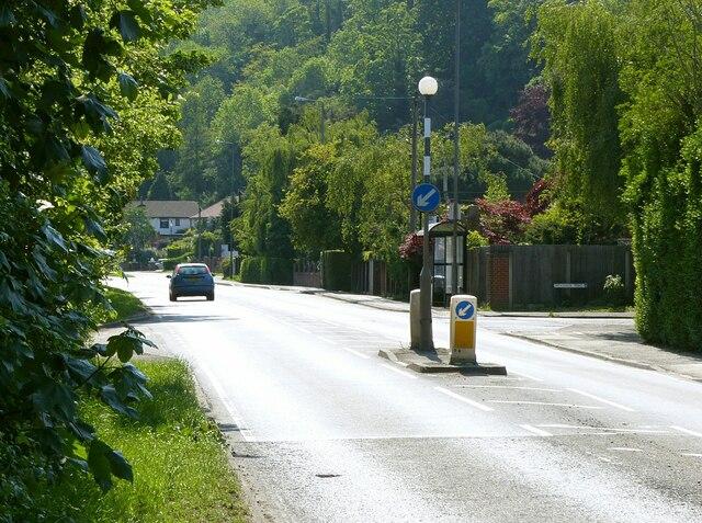 Junction Nottingham Road and Woodside Road, Burton Joyce