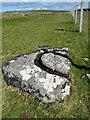 HY2115 : Unfinished millstone by Mick Garratt