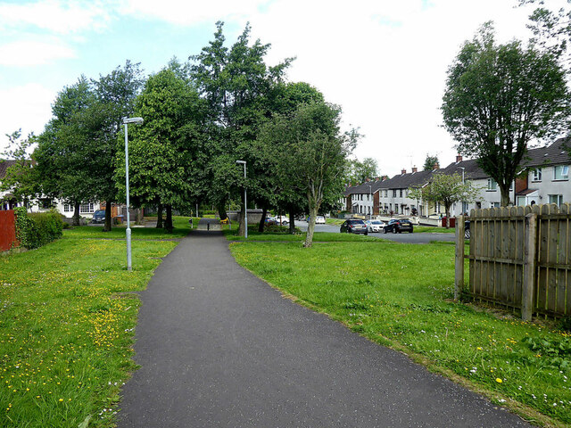 Access path, Festival Park, Omagh