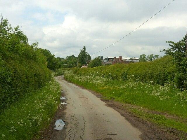 Lane Near Woodhouse Farm