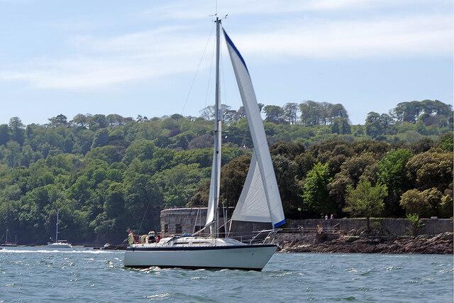 Sailing through The Narrows
