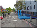 SO8754 : Worcestershire Royal Hospital - en garde! by Chris Allen