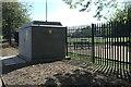 TF0920 : Floodlit substation by Bob Harvey