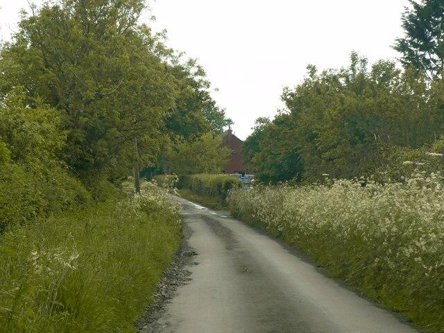 Pipe Wood Lane, Blithbury