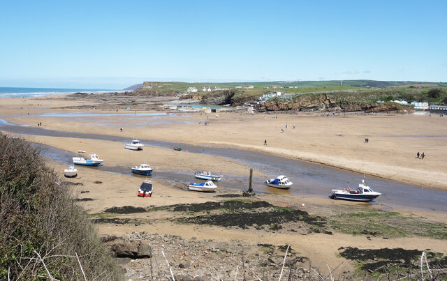 Bude Haven, Boats on the Beach