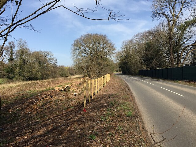 HS2 enabling works, Dalehouse Lane, Kenilworth, March 2021 (3)
