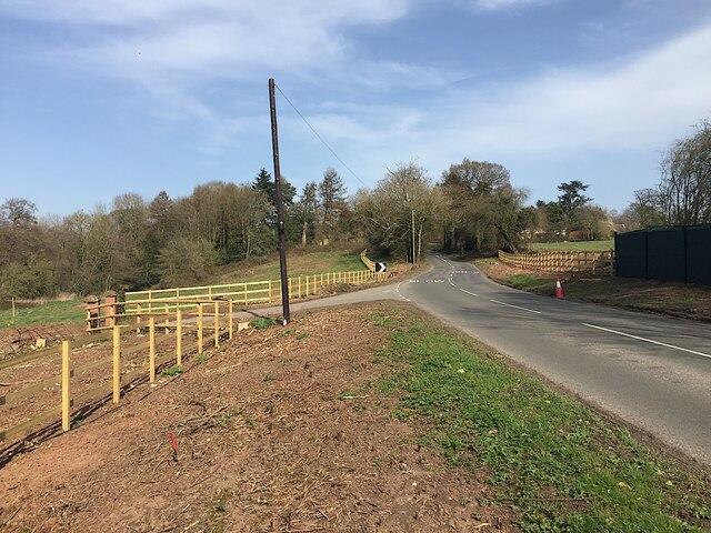 HS2 enabling works, Dalehouse Lane, Kenilworth, March 2021 (5)