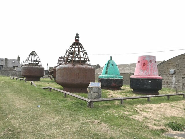 Final resting place for old buoys