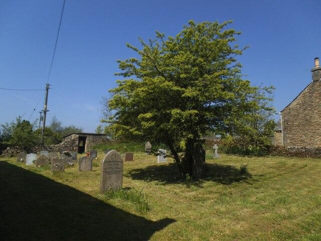 St Bartholomew, Tosside - churchyard