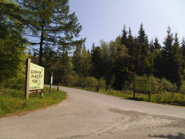 Entrance to the Gisburn Forest Hub