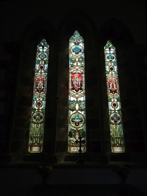 Dalehead St James, east window
