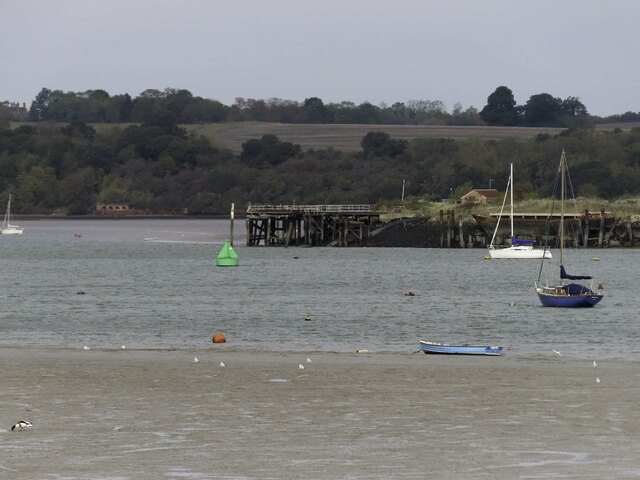 The jetty at Hoo Ness