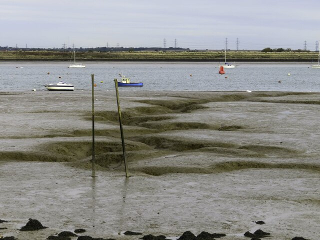 Mudflats by the River Medway