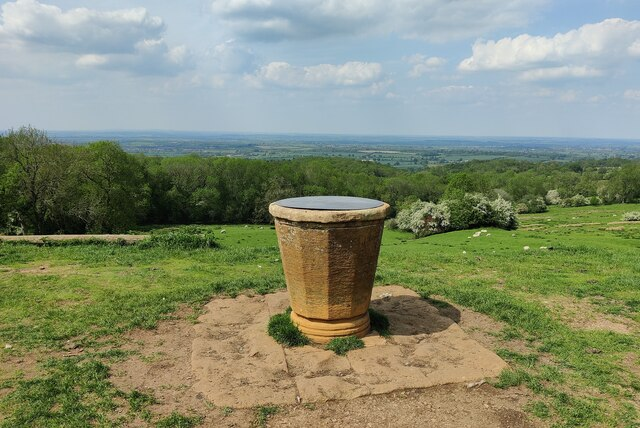Toposcope on the summit of Dover's Hill