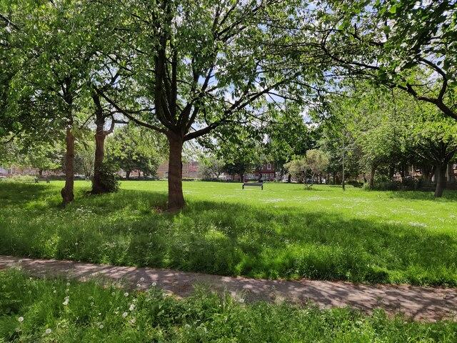 Kamloops Park in St Matthew's, Leicester