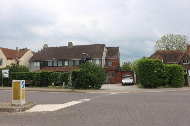 Junction on Main Road, Danbury