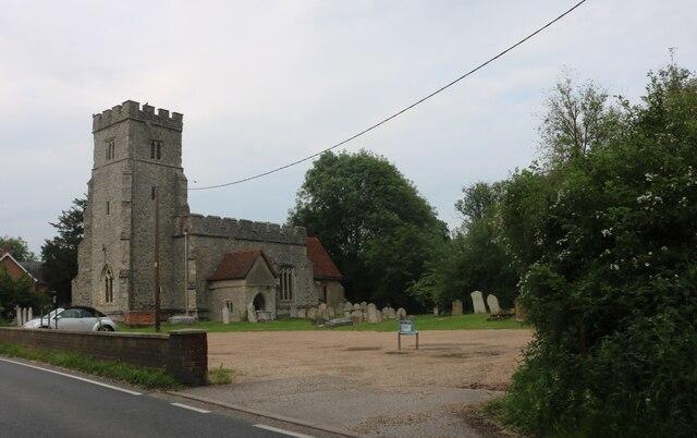 St Nicholas Church, Tolleshunt D'Arcy