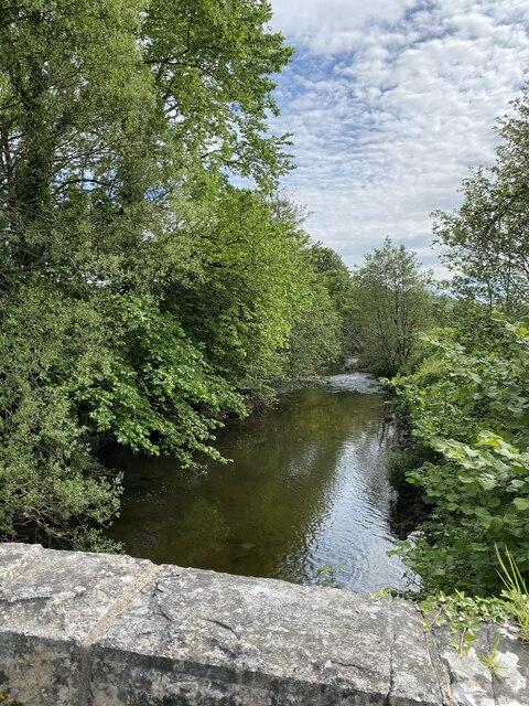 Afon Dulais from Pont Felin Wen