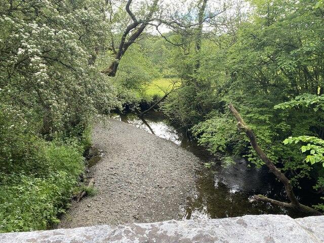 Afon Dulais at Pont Rhyd y March