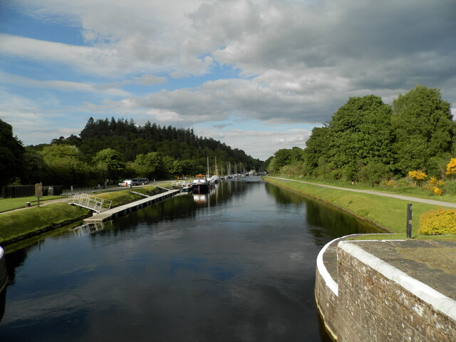 The Caledonian Canal at Dochgarroch by Douglas Nelson