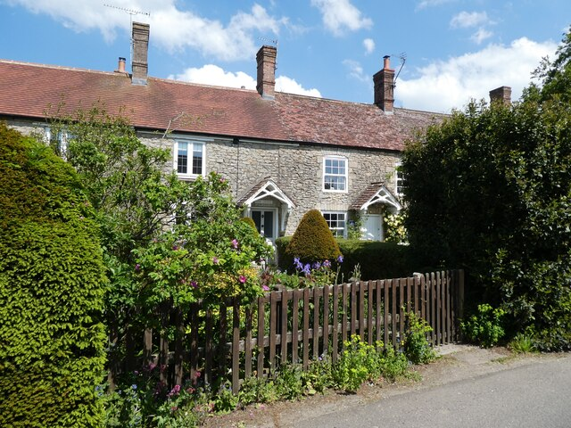 Cottages on the High Street, Evercreech