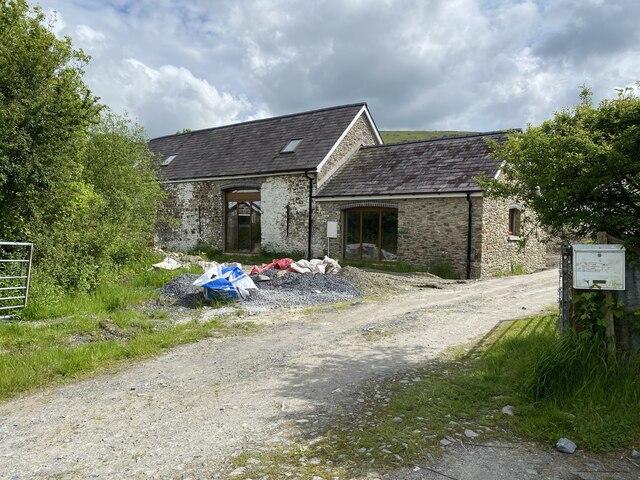 Barn conversion at Bwlch y Rhyd