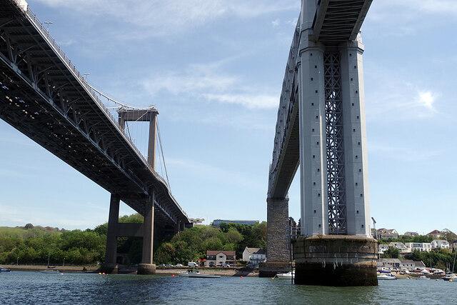 Bridges over the River Tamar