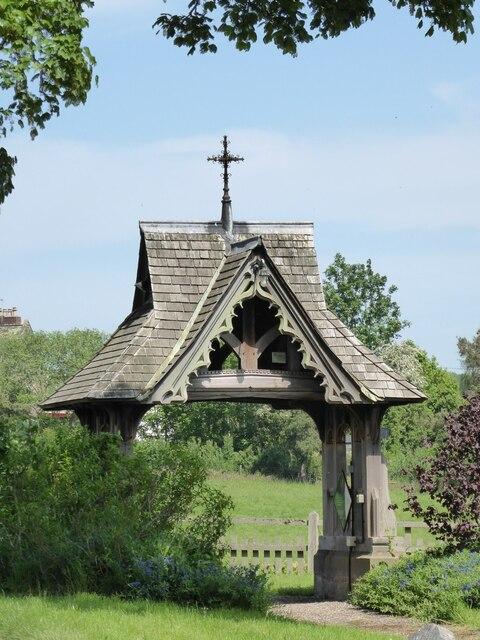 Lychgate to Morville church