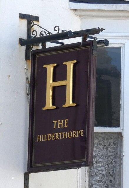 Sign of The Hilderthorpe
