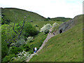 SO7639 : Clutter's Cave, Hangman's Hill, Malvern Hills by Chris Allen