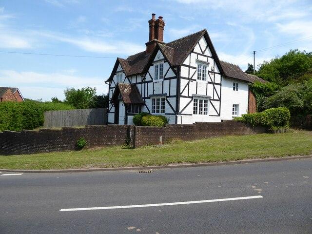 Timber-framed cottage