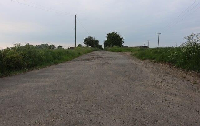 Track to Bocking Hall, Mersea Island