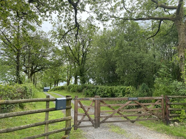 Gateway to Pant Hywel