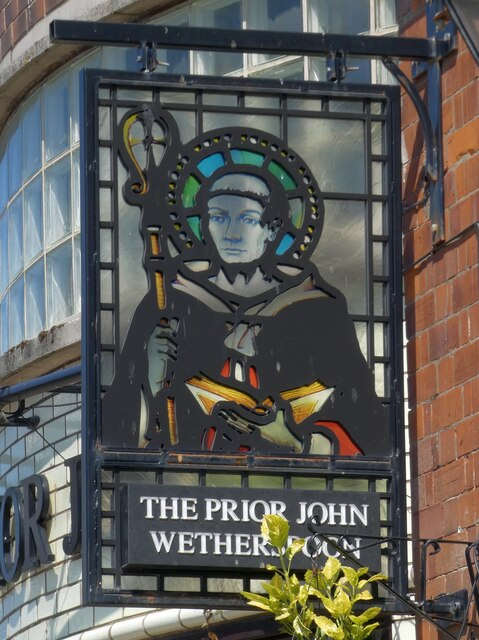 Sign of The Prior John