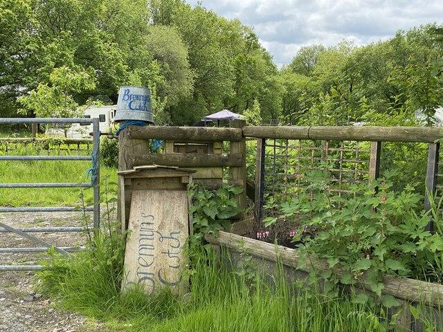 Entrance to Brennyn's Cwtch