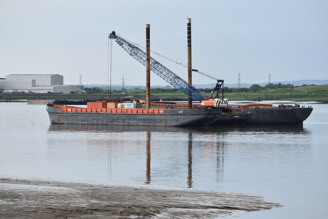 Moored barges, Erith