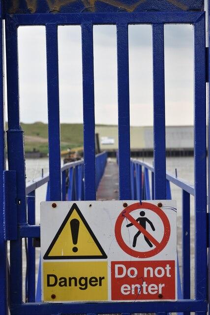 Danger: Do not enter
