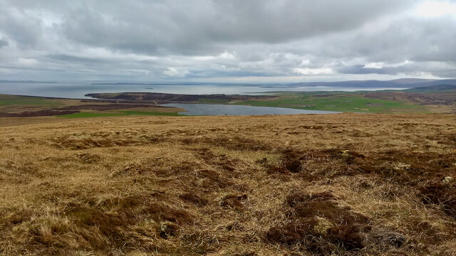Scapa Flow from Keelylang Hill