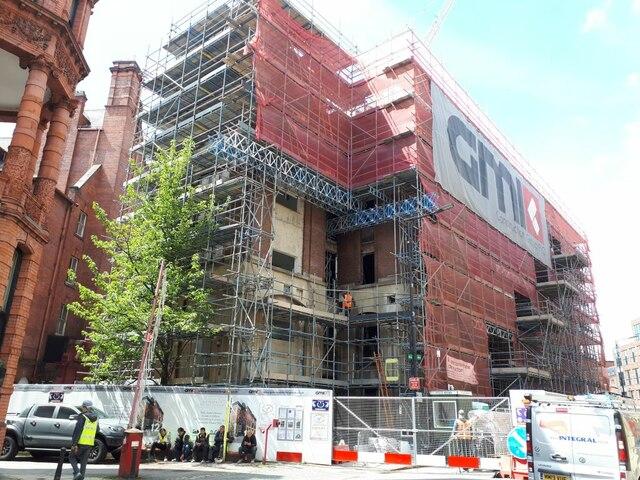 Development work on Quebec Street