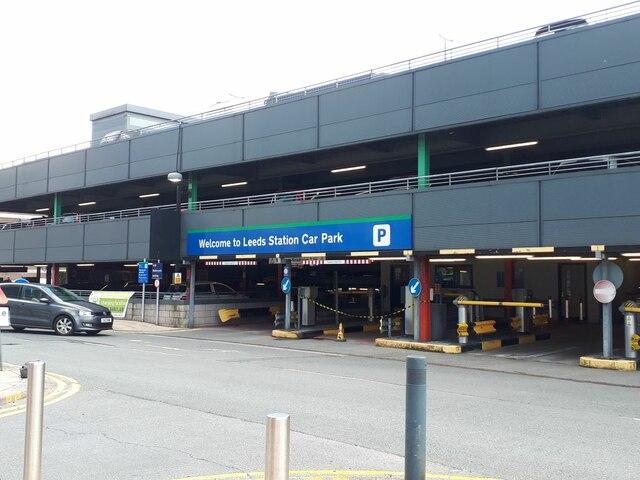 Leeds station car park