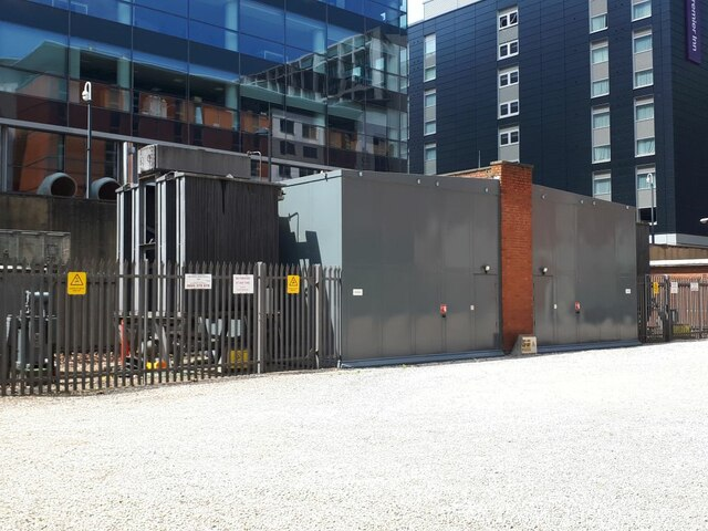 Electricity substation, Whitehall Riverside