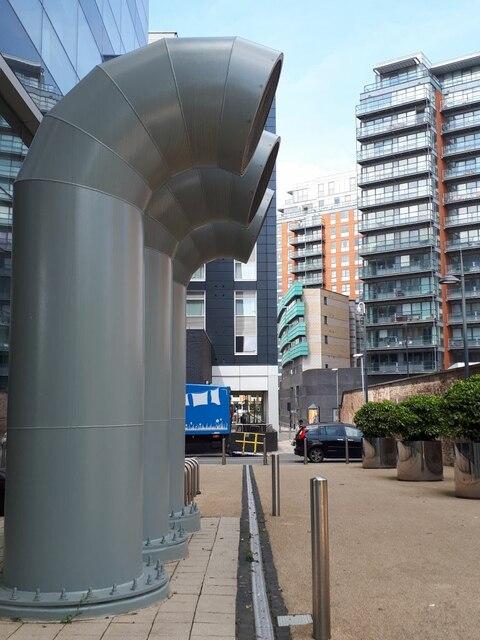 Ventilation shafts, Whitehall Riverside