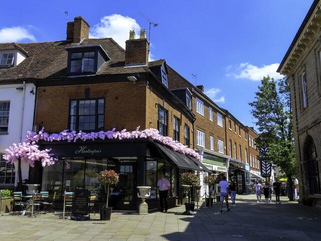 Market Place in Warwick