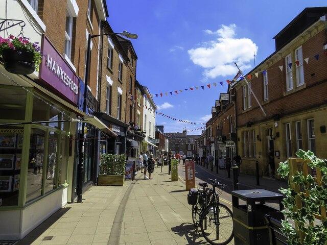 Swan Street in Warwick