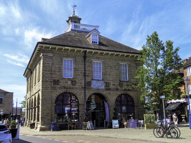 The Market Hall Museum in the Market Place