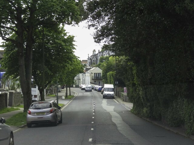 Babbacombe Road in Torquay