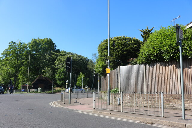 Oxhey Road at the junction of Eastbury Road