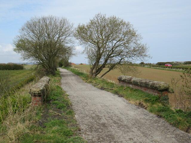 Cinder Track near Hawsker by Malc McDonald